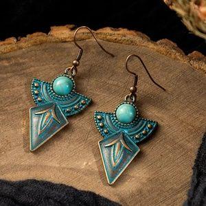 Jewelry - 5/$25 Tribal Half Moon Arrow Earrings